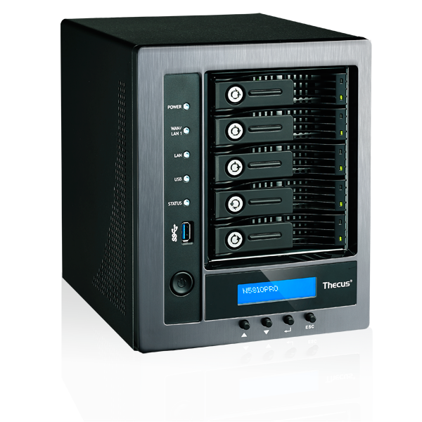 Thecus N5810PRO Small Business NAS press photo courtesy of Thecus