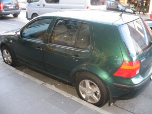 Volkswagen Golf hot hatch