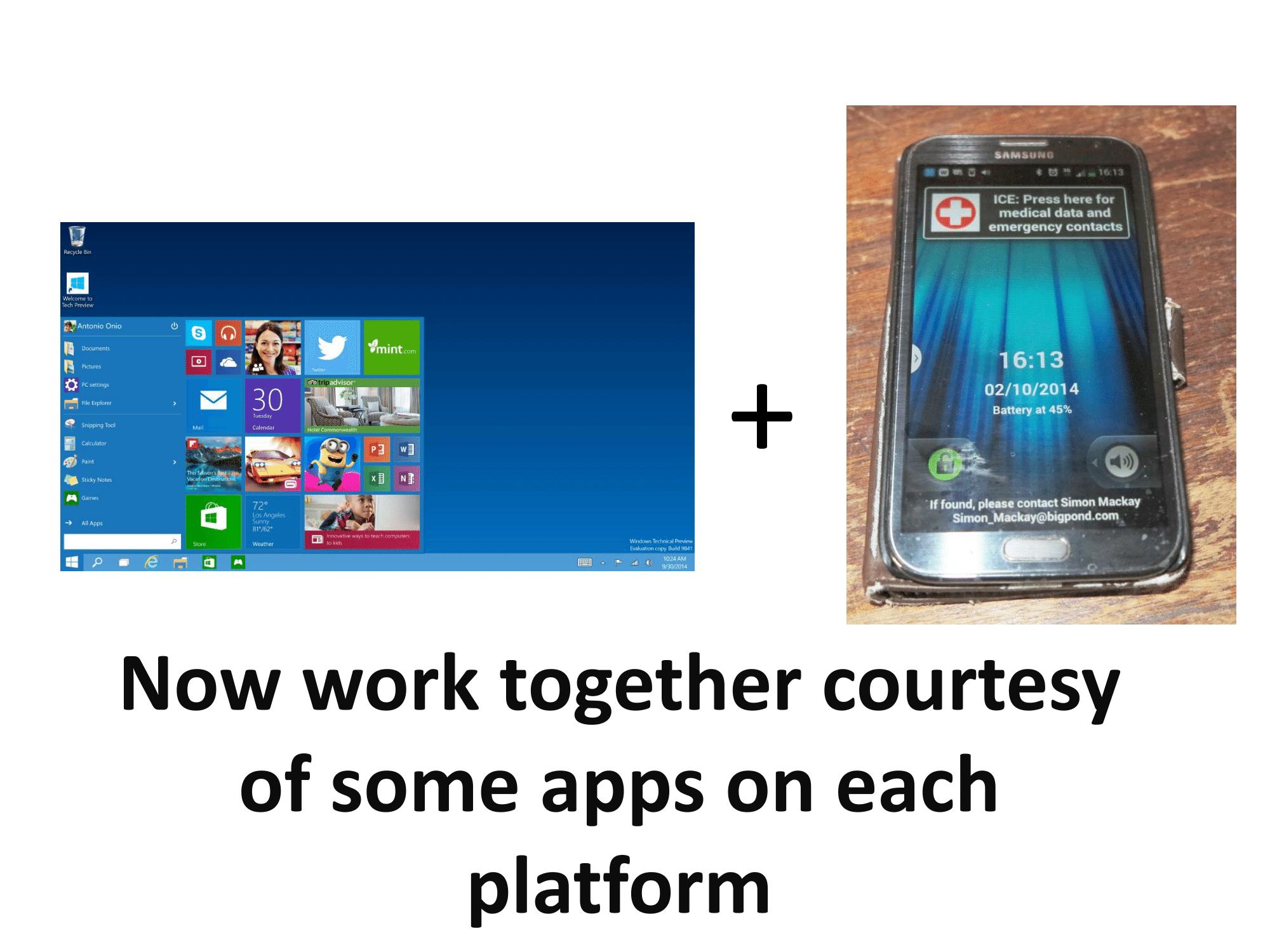 Windows 10 and your smartphone platform work together-1