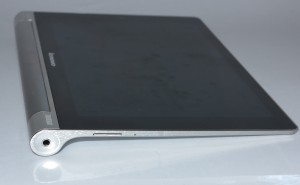 Hinge pin detail on the Lenovo Yoga Tablet 2