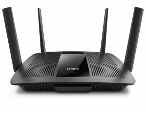 Linksys EA8500 broadband router press picture courtesy of Linksys USA