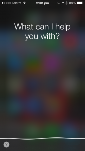 Siri - the first of the mobile personal-assistant software