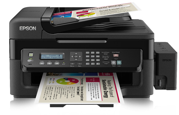Epson EcoTank ET-L555 office printer press picture courtesy of Epson Europe