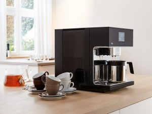 Miele CM7 countertop bean-to-cup coffee machine press picture courtesy of Miele