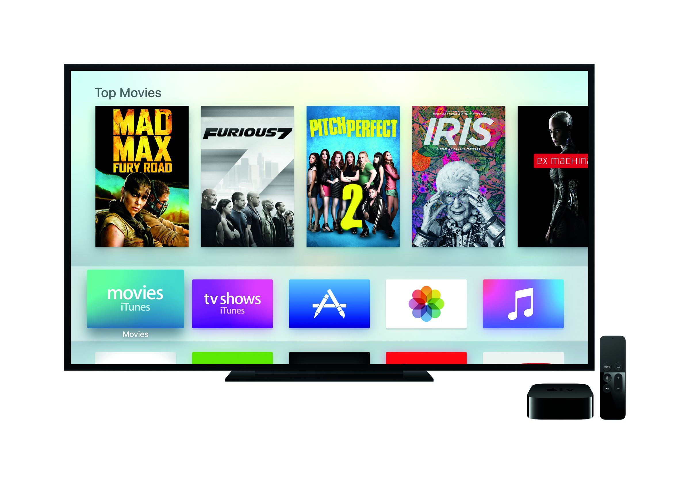 Apple TV 4th Generation press picture courtesy of Apple