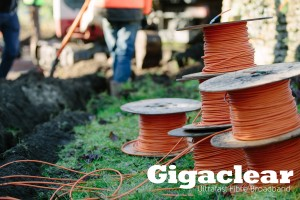 Gigaclear fibre-optic cable - picture courtesy of Gigaclear
