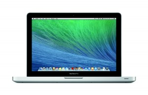 Apple MacBook Pro running MacOS X Mavericks - press picture courtesy of Apple