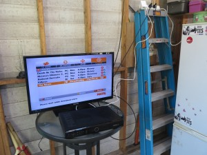 Cable TV in the man-cave