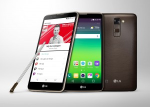 LG Stylus 2 DAB+ Android smartphone press photo courtesy of LG