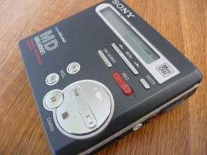 Sony MZ-R70 MiniDisc Walkman image courtesy of Pelle Sten (Flickr http://flickr.com/people/82976024@N00)