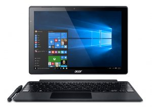 Acer Switch Alpha 12 2-in-1 with keyboard press image courtesy of Acer
