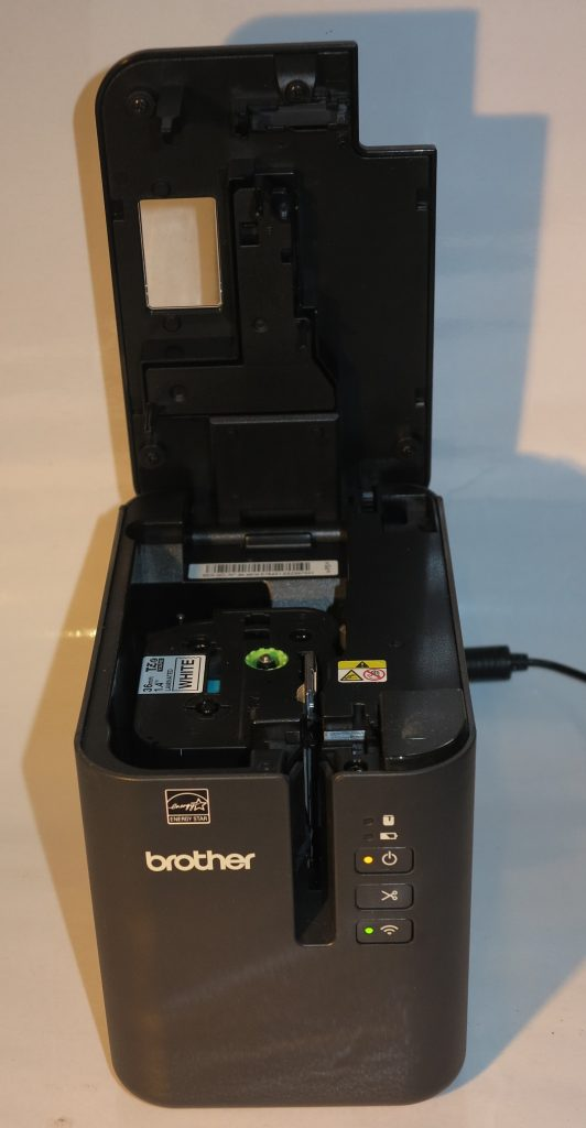 How you load the Brother P-Touch PT-P900W label printer