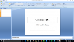 Microsoft PowerPoint - useful for creating electronic signage