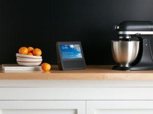 Amazon Echo Show in kitchen press picture courtesy of Amazon