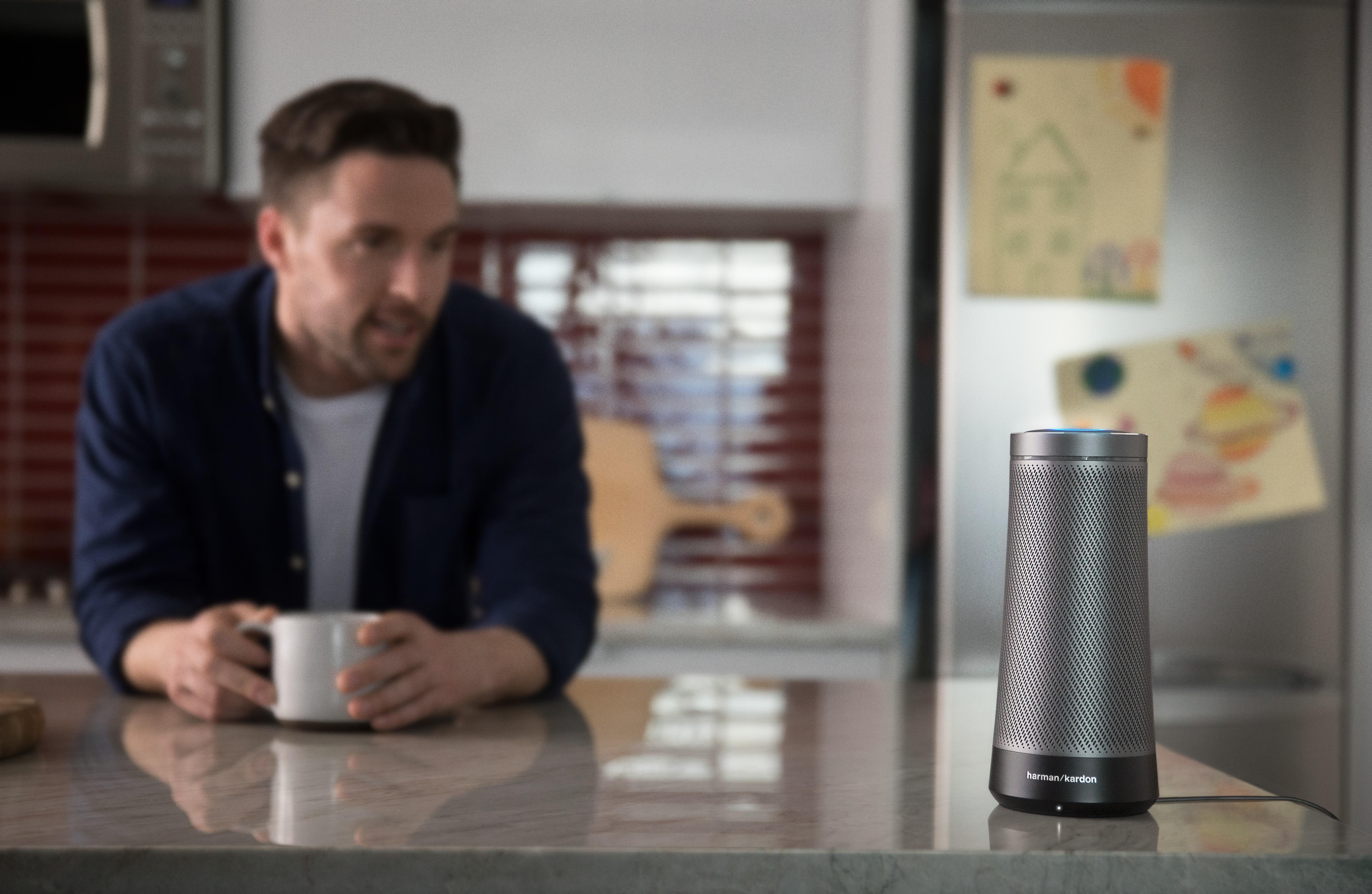 Harman Invoke Cortana-driven smart speaker press picture courtesy of Harman International