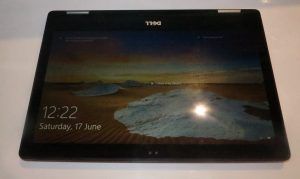 Dell Inspiron 13 7000 2-in-1 laptop in tablet mode