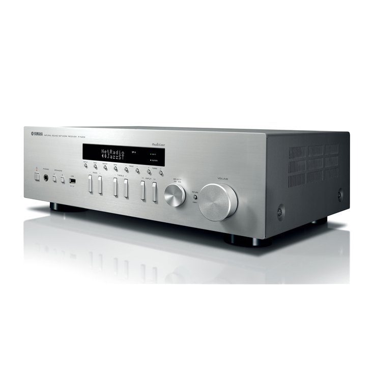 Yamaha R-N402 Natural Sound Network Stereo Receiver press picture courtesy of Yamaha Australia