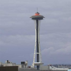 Seattle Space Needle photo by Chris Noland (Wikimedia Commons)