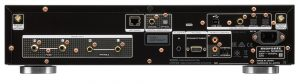 Marantz ND-8006 network CD player - rear panel - press picture courtesy of Qualifi Pty. Ltd.