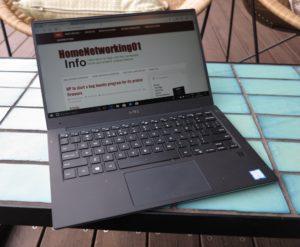 Dell XPS 13 8th Generation Ultrabook at QT Melbourne rooftop bar