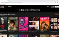 Kanopy independent cinema page