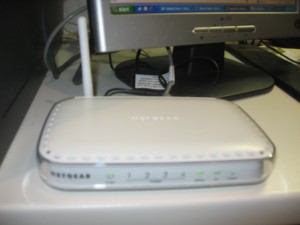 Netgear DG834G ADSL2 wireless router