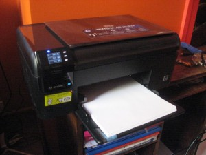 HP Photosmart Wireless B109n printer
