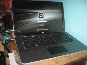 HP Envy notebook computer