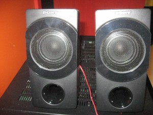 Sony SRS-DB500 satellite speakers - extension speakers for computer equipment