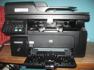 HP LaserJet M1210 Series multi-function laser printer
