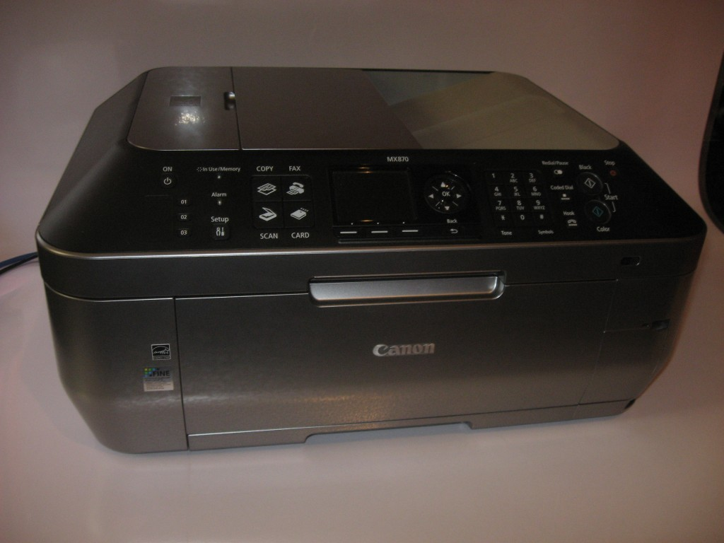 Canon PIXMA MX-870 multifunction printer