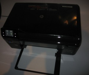 HP Photosmart Wireless-E B110a all-in-one printer