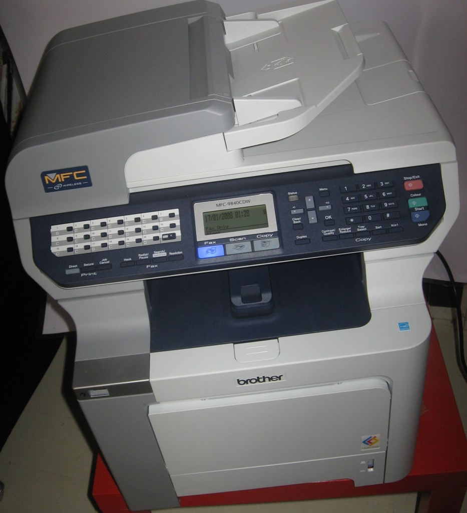 "Brother MFC-9480CDW colour laser ""document centre"""