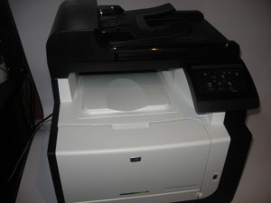 HP LaserJet Pro CM1415fnw colour laser multifunction printer