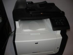 HP LaserJet Pro CM1415fnw colour laser multifunction printer
