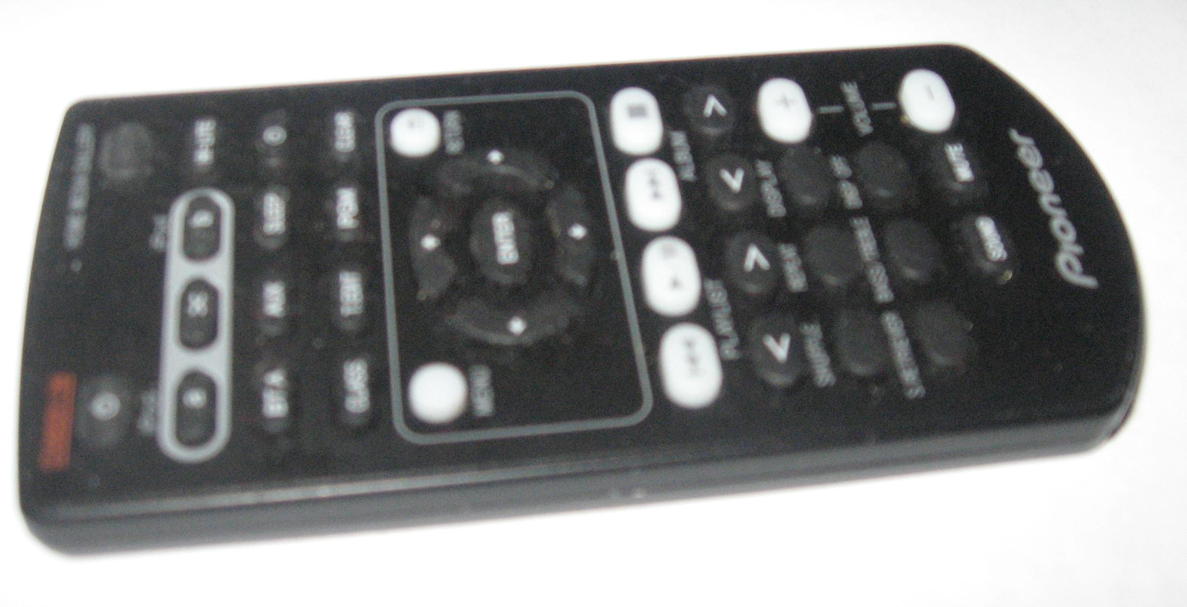 Pioneer XW-NAC3 remote control