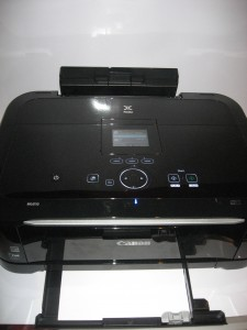 Canon PIXMA MG-6150 multifunction printer - paper loading