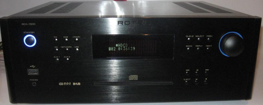 Rotel RCX-1500 CD receiver