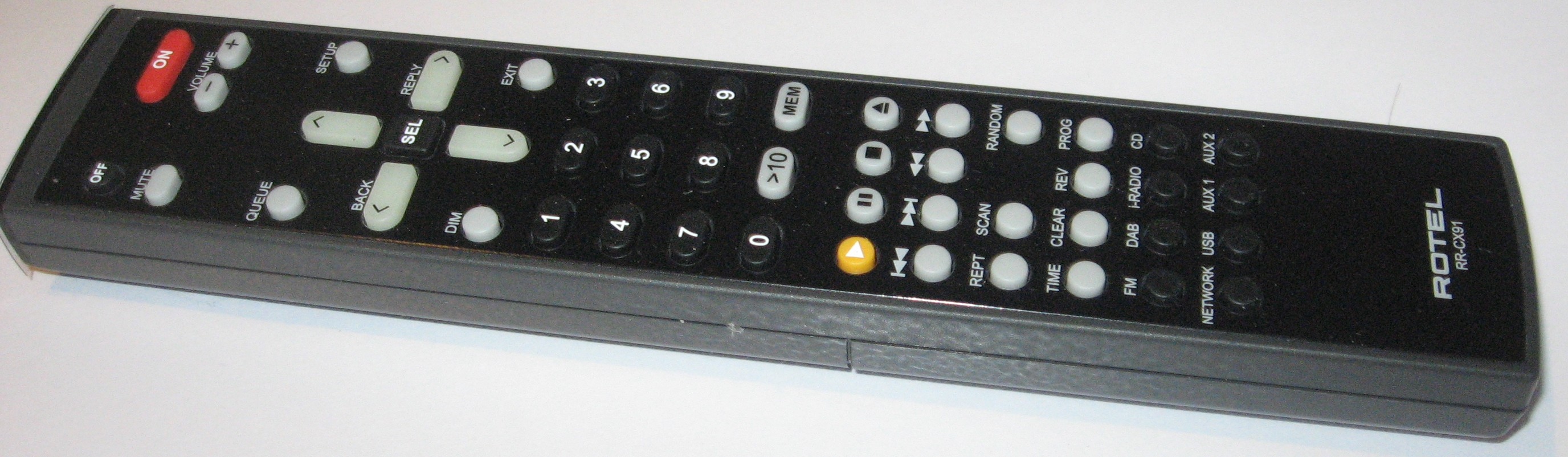 Rotel RCX-1500 CD receiver remote control