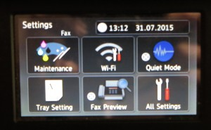Brother MFC-J5720DW settings menu