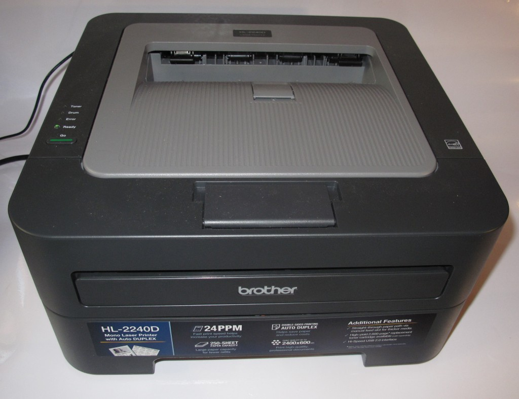 Brother HL-2240D compact monochrome laser printer