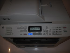 Brother MFC-7360N monochrome laser multifunction printer control panel