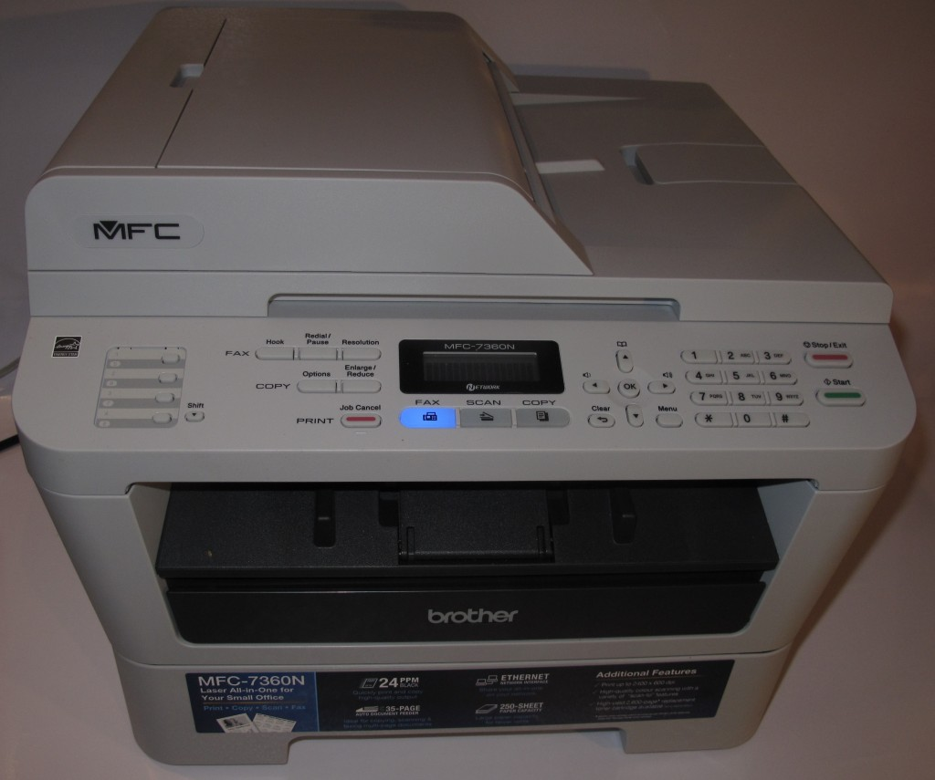 Brother MFC-7360N monochrome laser multifunction printer