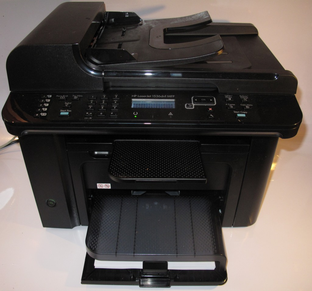 HP LaserJet M1536dnf monochrome laser multifunction printer