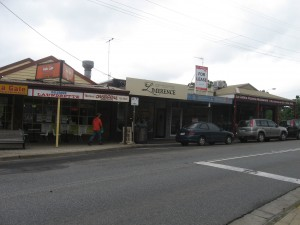 Small businesses - Belgrave shopping strip
