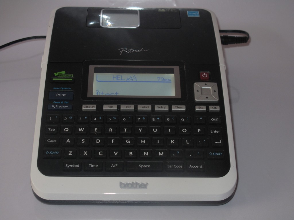Brother P-Touch PT-2730 label writer