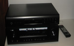 Denon networked home-theatre receiver and Blu-ray player