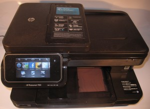 HP Photosmart 7510 multifunction inkjet printer