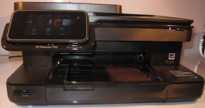 HP Photosmart 7510 multifunction printer - head on