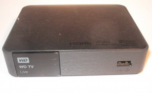 Western Digital WDTV Live network media player - 2011 version